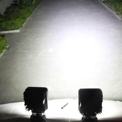 Projeção da luz no chão