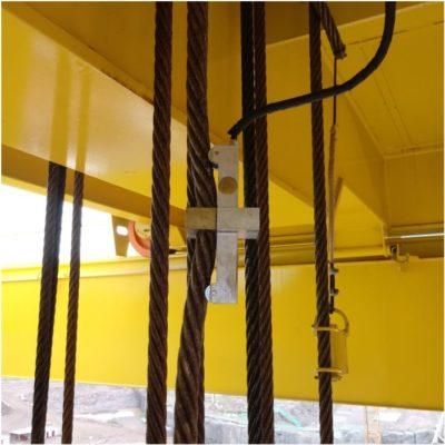 Limitador com célula de carga cabo
