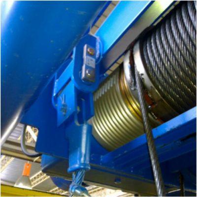 Limitador com célula de carga tração