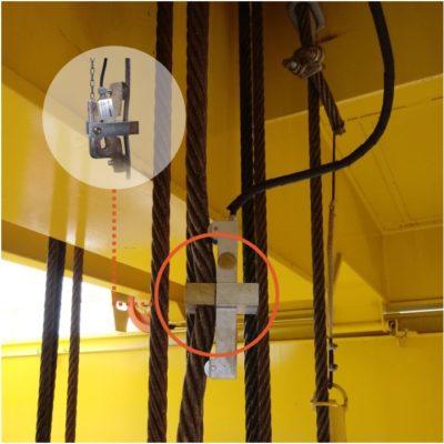 Exemplo de aplicação do Limitador Mecânico