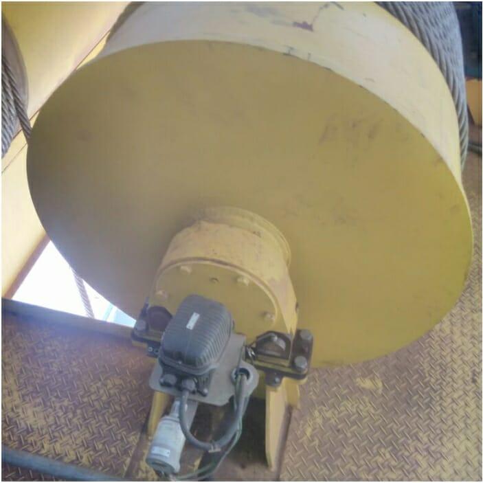 Aplicação Chave Rotativa em Ponte Rolante