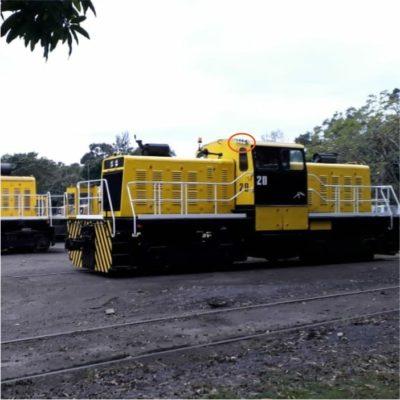 Sinalizador LED para Locomotiva