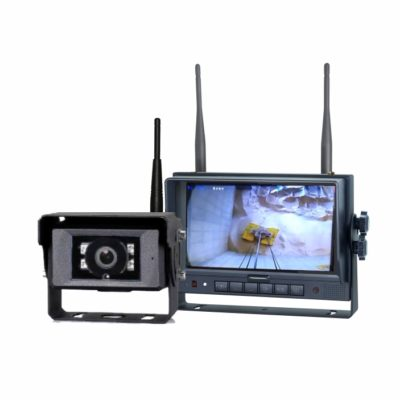 Kit Câmera e Monitor Wireless wCAC