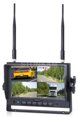 "17- SKMW700127 (MONITOR 7"" BOTAO TOUCH - LCD DIGITAL - COM SPLITTER E WIRELESS)"