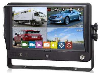 """20- SKMR900148 (MONITOR 9"""" TOUCH-SCREEN - LCD DIGITAL - COM SPLITTER E COM GRAVADOR - SEM GPS"""