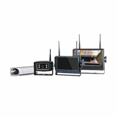 Kit Câmera e Monitor Wireless wCAV