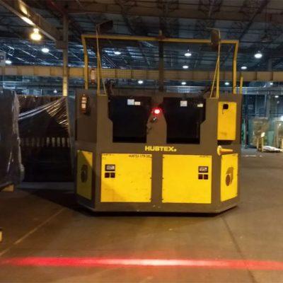 Aplicação em máquina transportadora de vidros e cristais