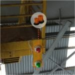 Aplicação Sinalizadores aBAC em Ponte Rolante