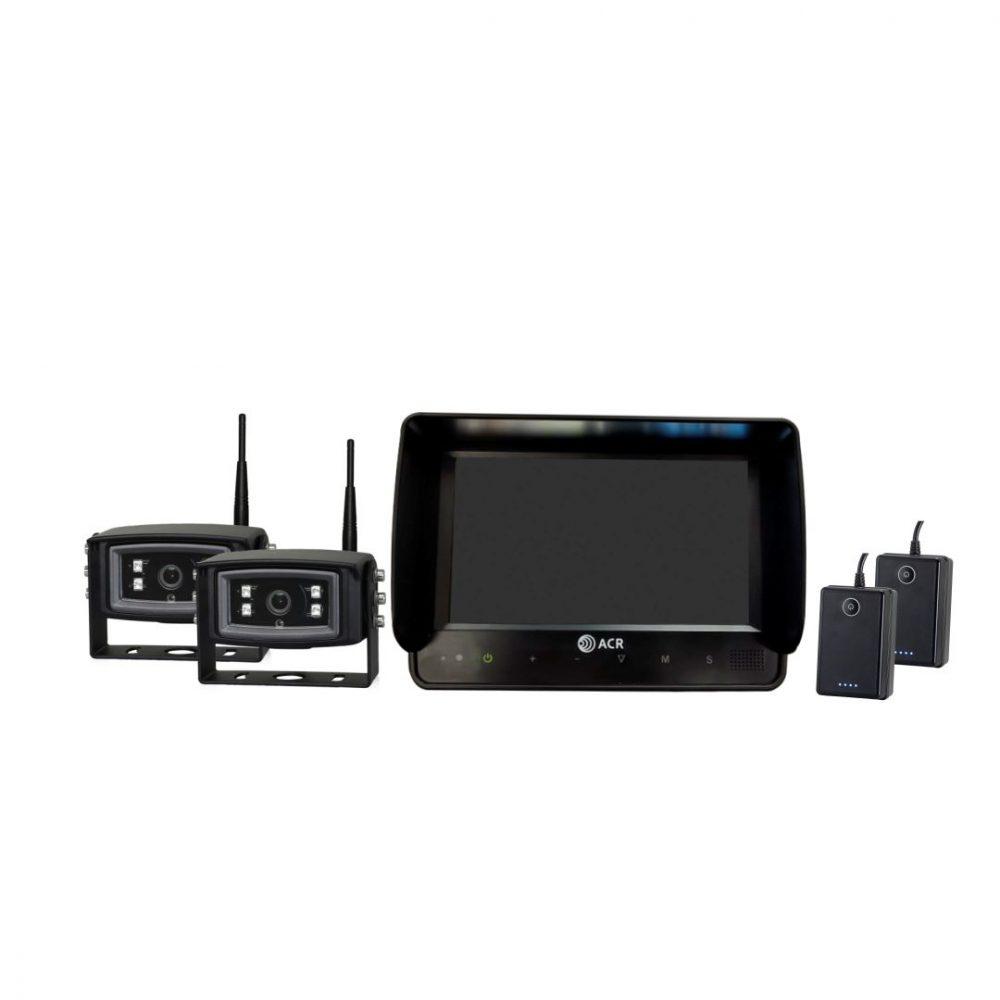 Kit Câmera Wireless para Veículos Industriais
