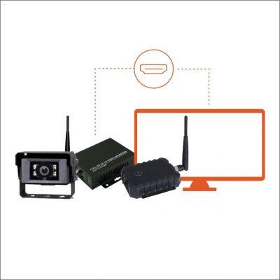 Kit Câmera Wireless wCAC SKKIT8