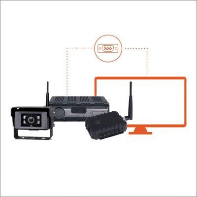 Kit Câmera Wireless wCAC SKKIT9
